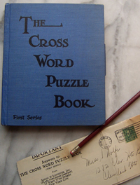 Cross Word Puzzle Book